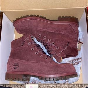 limited release maroon timberlands